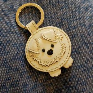 Coach Accessories - Coach cute puppy key ring